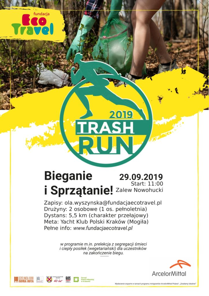 Trash Run Nowa Huta plakat