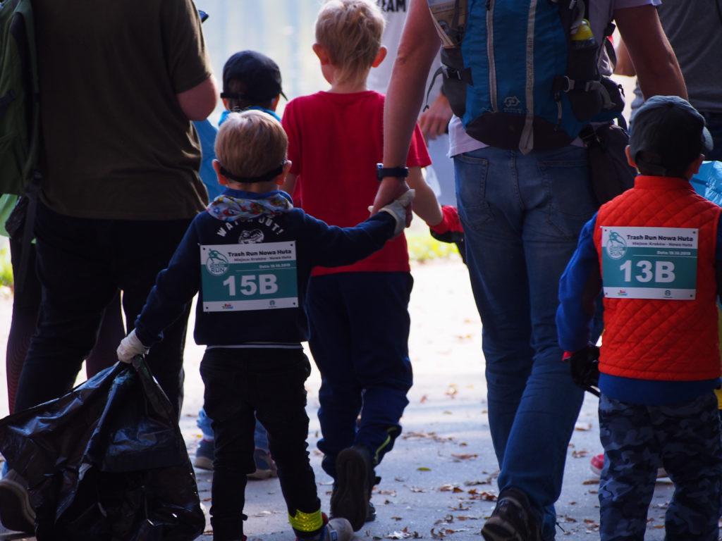 Starbucks Trash Run Kids fot. Klaudia Augustyn